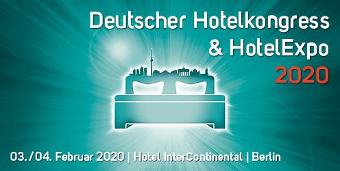 Veranstaltungen in der Hotellerie - Deutscher Hotelkongress und HotelExpo 2020